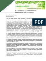 Jornada Ambiental 2021