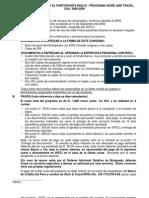Convenio Participacion Nuevos WAT 2008-2009 (Grupo B)