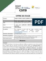 Offre de Stage Habitat Social Durable CTSB POPSU