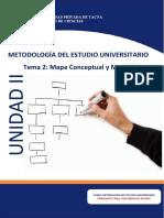 tema 2_II Unidad_Mapa conceptual y mental