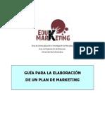 guía para la elaboración de un plan de marketing