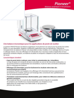 Pioneer Plus Analytical and Precision Balances Data Sheet FR 80775073