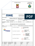 PEMN-P19 03 Disciplinare Tecnico Prestazionale Rev01