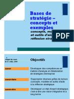 Concepts stratégie