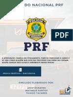 Simulado Nacional PRF