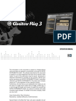 Guitar Rig 3 Manual English