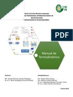 Manual Termodinamica 2018