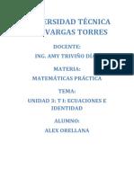 ALEX ORELLANA Matematica Practica