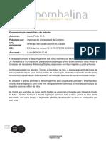 7-Pedro M. S. Alves - Fenomenologia. a metafísica do método