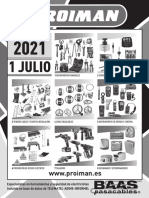 202107 Proiman Tarifa Julio 2021