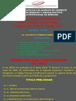 ESTRUCTURA DEL CODIGO PROCESAL CONSTITUCIONAL