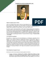 TAREA DE HISTORIA - PRIMER GOBIERNO DE AGUSTÍN GAMARRA