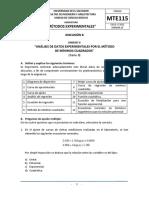 Discusión Viii - Mínimos Cuadrados II - 2021