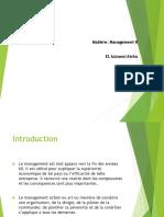 Présentation Management 2 Jusqu à La Séance Du 18.05.2020