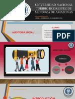 Diapositivas de AUDITORÍA SOCIAL 2do