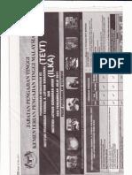 IKLAN JABATAN PENGAJIAN TINGGI (PERMOHONAN KEMASUKAN TEVT & ILKA) SESI 2011/2012