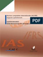 Audit Et IFRS Sur Les Immobilisations Incorporelles