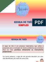 (EF07MA17)Grandezas Diretamente Proporcionais e Grandezas Inversamente Proporcionais. (1)