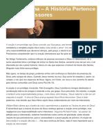 A Historia Pertence Aos Intercessores - Gerson Lima