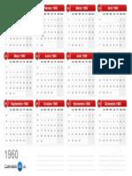 Calendario 1960 v2.0