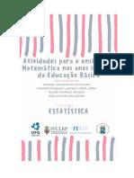 ATIVIDADES PARA O ENSINO DE MATEMÁTICA NO EF - LIVRO 01 - ESTATÍSTICA - JAN 2019