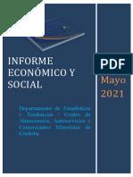 Informe Económico Mayo 2021