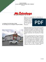 Management des Organisation TD n° 1 T STEG  B CMTM 2019 2020 MSY