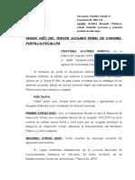 ALVITRES ARROYO, CRISTOBAL