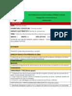 plan de clase de español 2020 ciencias sociales