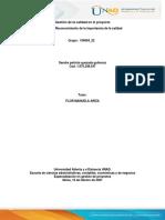 Gestión de la calidad en el proyecto_Fase1_