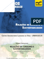 Relações de Consumo e Sustentabilidade