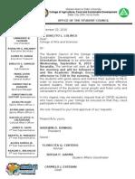 Letter DeanCAS 2010
