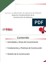 INTEC - IDS323 - 5 - Aspectos Fundamentales de la Construcción de Software
