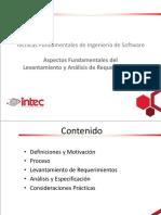INTEC - IDS323 - 3 - Aspectos Fundamentales del Levantamiento y Análisis de Requerimientos
