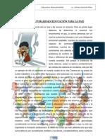 INTERCULTURALIDAD - EDUCACIÓN PARA LA PAZ - ADRIANA CENTURIÓN