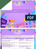 ESTRATEGIA DE EDUCACION E INTELIGENCIA SOCIEOMOCIONAL