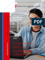 Ucv Prospecto Pregrado 2021