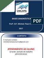 AULA 1- apresentação PLANO DE ENSINO- BASES DIAGNÓSTICAS