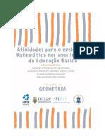 ATIVIDADES PARA O ENSINO DE MATEMÁTICA NO EF - LIVRO 04 - GEOMETRIA - JAN 2019