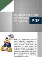 Flujo de efectivo operativo del presupuesto capital (1)