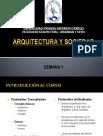 1 Arquitectura y Sociedad - Arq-Soc-Entorno