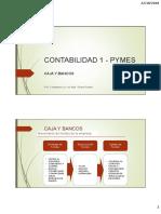 Contabilidad 1 - Pymes - Caja y Bancos 22 Octubre Del 2020