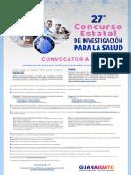 Concurso de Investigación para la Salud Guanajuato 2021