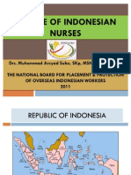 Profile of Indonesian Nurses