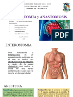 Enterostomia y Anastomia