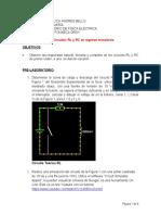Práctica Nro 6 (RC-RL Regimen Transistorio Virtual)