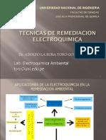 TECNICAS_ DE REMEDIACION ELECTROQUIMICA