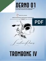 CADERNO 01 - QUARTETOS TROMBONE - TBN IV