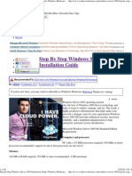 Step by Step Windows Server 2003 Installation Guide _ Windows Reference
