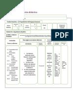 Planeación didáctica de diseño curricular